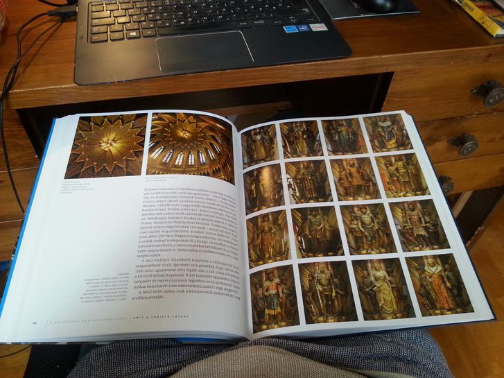 Ezek pont a nem annyira izgalmas szobrok, de a fényképeken egymás mellett baromi jól néznek ki a könyvben
