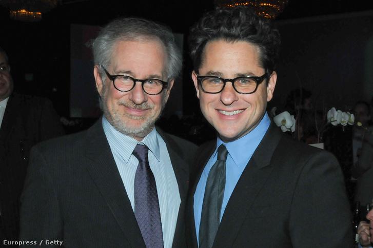 Steven Spielberg és J. J. Abrams