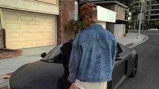 Nem, Justin Bieber nem Kourtney Kardashiannel közös képet posztolt
