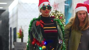 Beyoncé karácsonyfa akart lenni