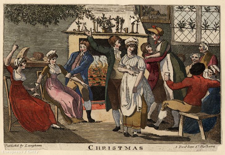 Nem elég puritán karácsoyn az 1810-es Angliában