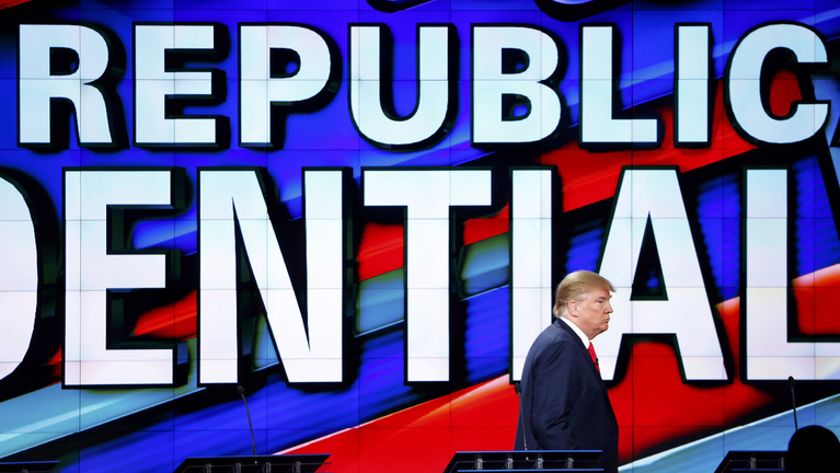 Káoszjelöltség, szőnyegbombázás, és Trump