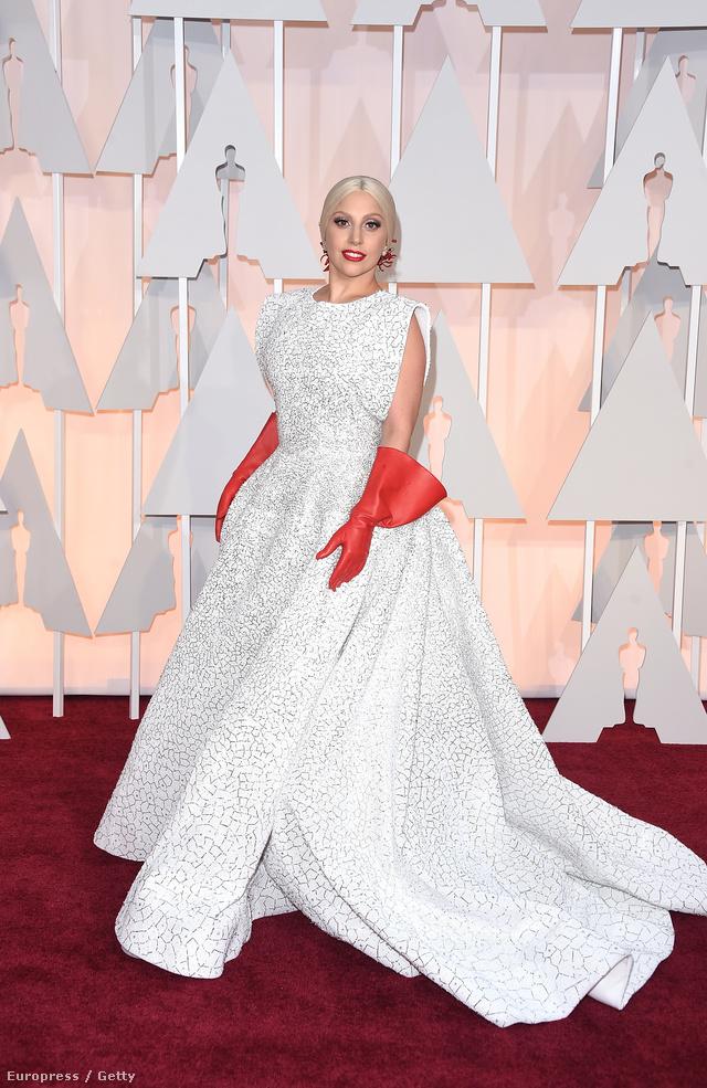 Lady Gaga ruhája még a mémgyárosokat is megihlette.
