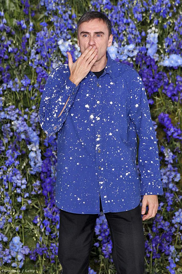 Raf Simons a Diortól való gyors távozása miatt lett érdekes az embereknek.