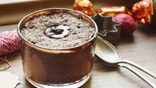 Pénteki süti: 5 perces csokis a készülődéshez