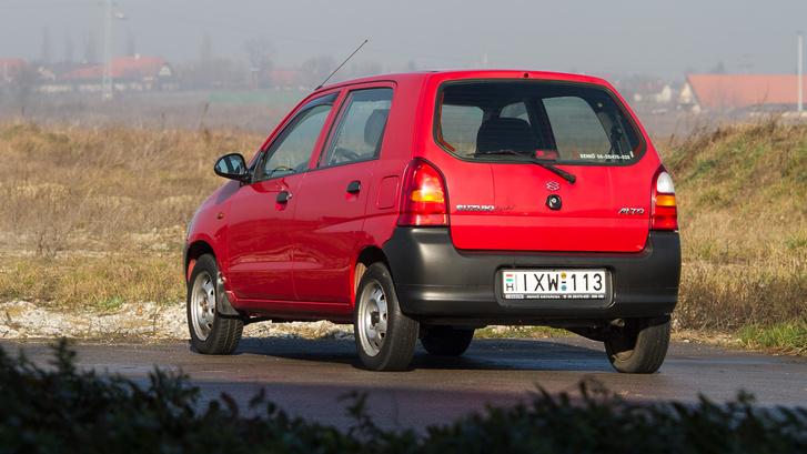Kétségkívül a Suzuki jobb formatervezési korszakai egyikének terméke