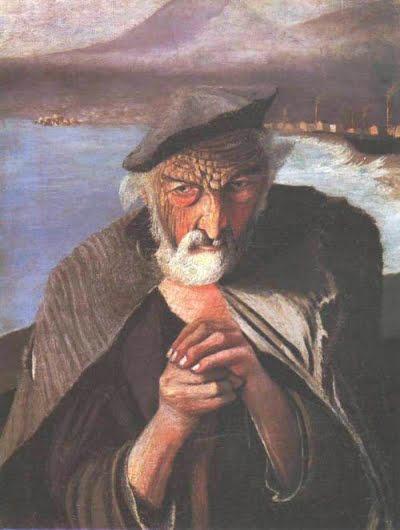 Csontváry Kosztka Tivadar: Öreg halász