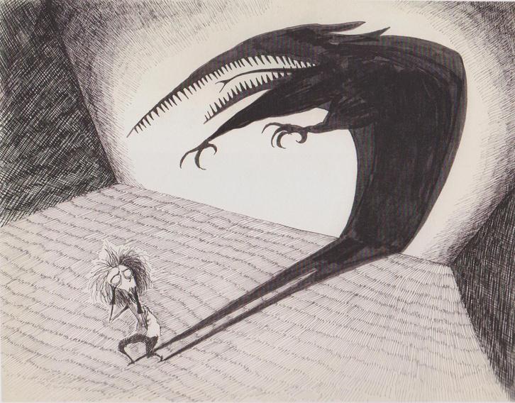 Tim Burton festménye