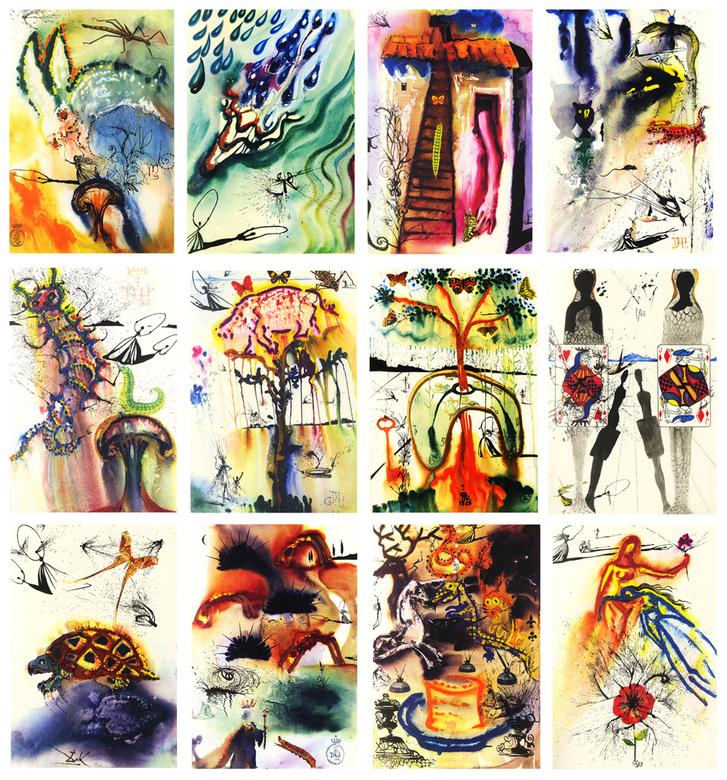 Salvador Dalí: Alice Csodaországban sorozat