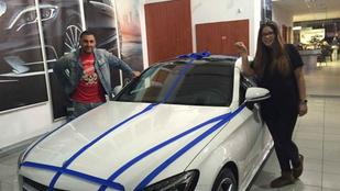 Mercedes-Benz: Nem kötöttünk Gáspár Evelinnel szponzorációs megállapodást