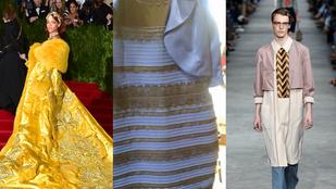 Rihanna omlettestélyije és a kék-fekete ruha vitte el az évet