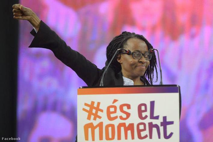 Rita Bosaho a párt színeiben az ország első fekete képviselője lett