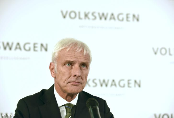 Matthias Müller vezérigazgató