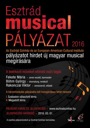 musicalpalyazat PLAKAT