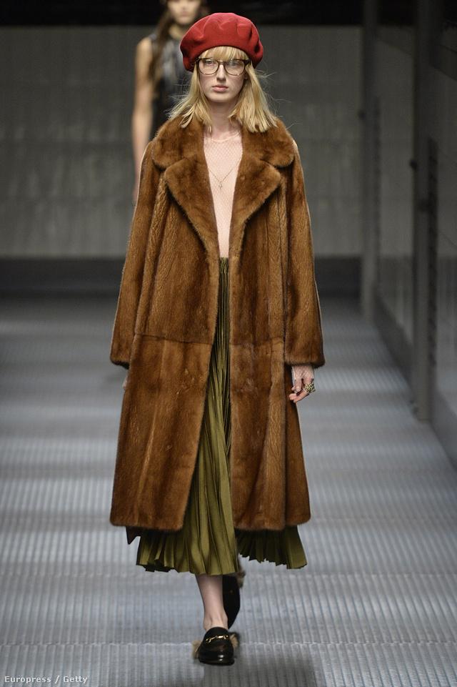 A Gucci új kreatívigazgatója,  Alessandro Michele szerint Margot Tenenbaumnak öltözünk 2015-ben.