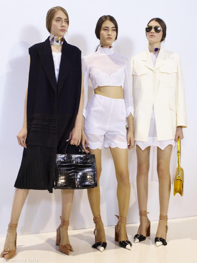 Ezzel a kollekcióval búcsúzott Raf Simons a Dior háztól.