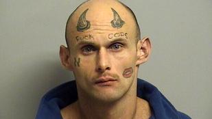 Nem elég a szerencsétlennek, hogy így néz ki, még le is tartóztatták