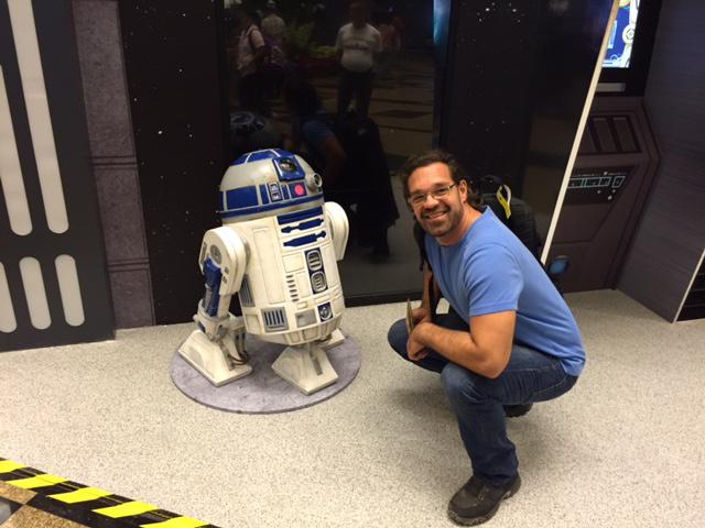 R2D2 és a Star Wars 7 egyetlen magyar rohamosztagosa, Kovács Géza