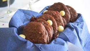 Pénteki süti: zabpelyhes-gyümölcsös keksz
