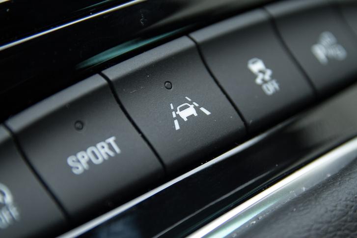 Az autopilot gomb