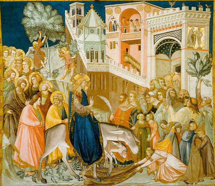 Assisi-frescoes-entry-into-jerusalem-pietro lorenzetti