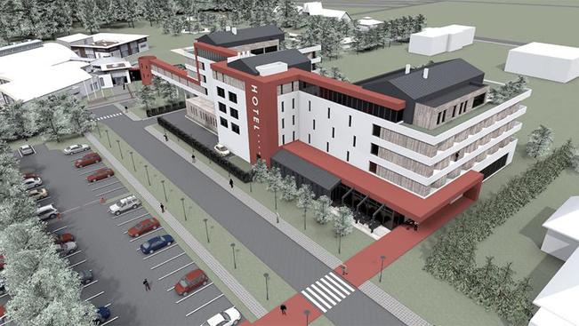 Tavaszra elkészül Lenti új négycsillagos szállodája