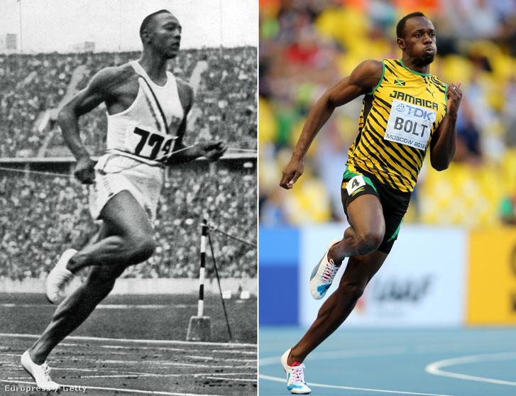 Jesse Owens és Usain Bolt