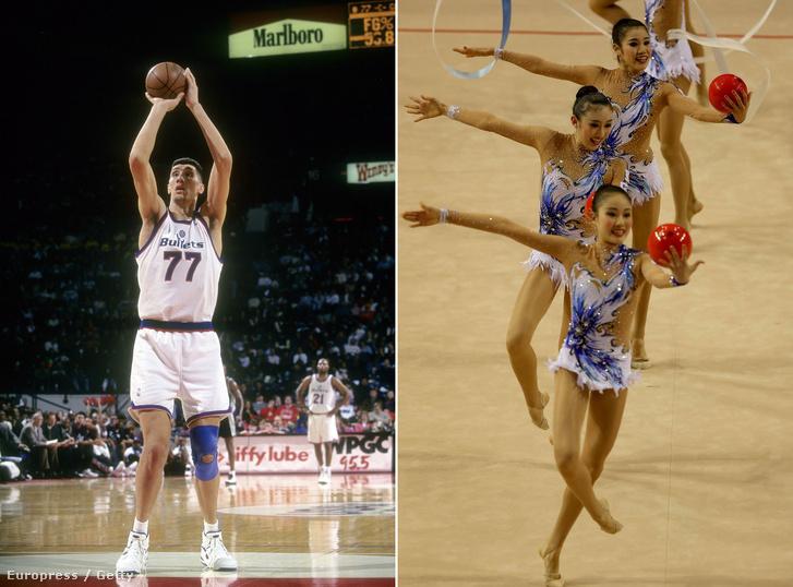 A kosarasok nőttek, a tornászok kisebbek lettek.