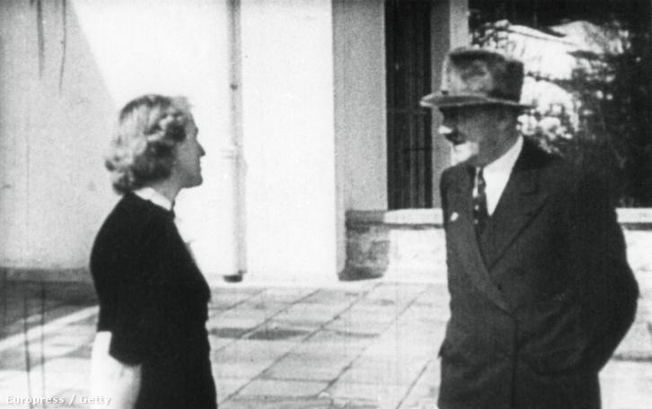 Hitler és Eva Braun Bajorországban