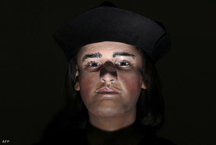 III. Richárd rekonstruált arcképe