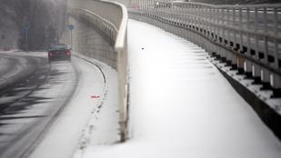 A tél első nagyobb havazását január 1-re jósolják