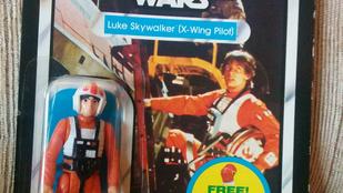 Több mint 30 év után, de megkapta a hőn áhított Star Wars figurát