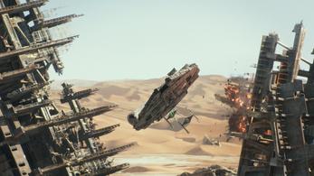 Rekordidő alatt keresett egymilliárd dollárt a Star Wars VII