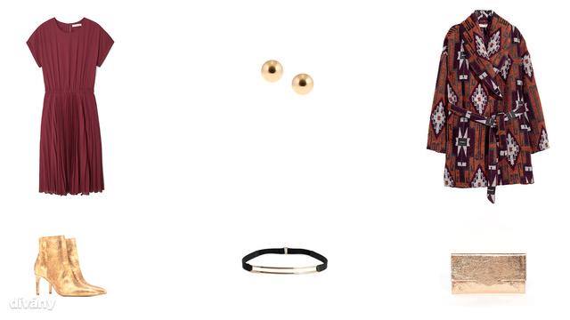 Ruha - 8995 Ft (Mango), fülbevaló - 895 Ft (Parfois), kabát - 17890 Ft (H&M), bokacsizma - 15995 Ft (Zara), öv - 2990 Ft (H&M), táska - 15 font (Asos)