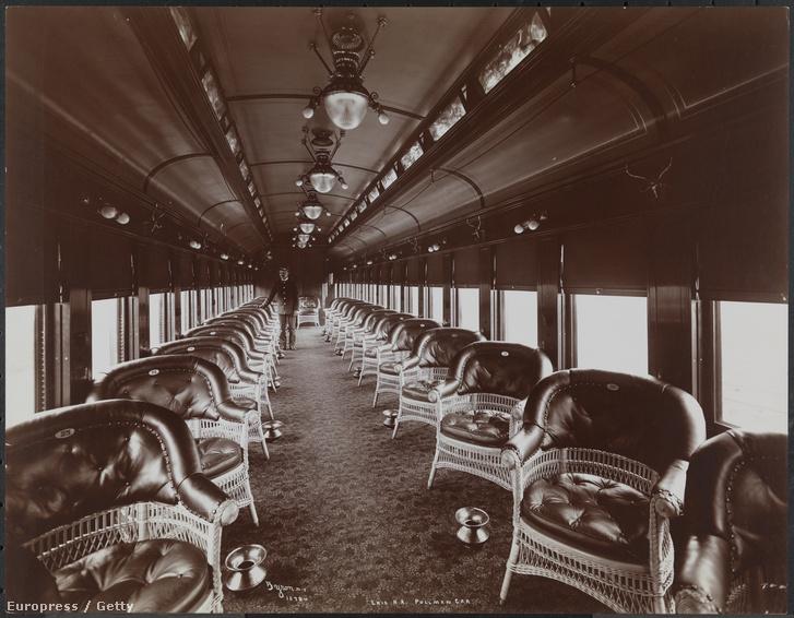 Pullman-kocsi 1903-ban