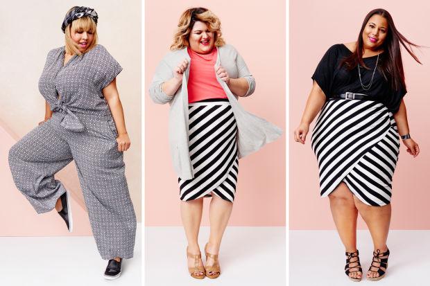 Az egyik legismertebb plus-size modell, Gabi Gregg, a népszerű blogger, Chastity Garner és Nicolette Mason reklámozta a Target plus-size kollekcióját.