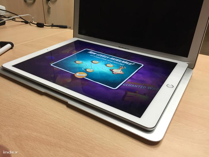 Ipad Pro, majdnem akkora, mint a Macbook Air