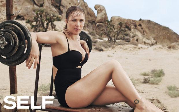 Először fordult elő a magazin 1979-es fennállása óta, hogy nem tökéletes alkatú modelleket és színésznőket tettek a borítóra, hanem egészséges, erős testalkatú és teltkarcsú modelleket. A vegyes harcművészként ismert 28 éves Ronda Rousey például a magazin novemberi számában dicsekedhet el irigylésre méltó izmaival az olvasóknak.