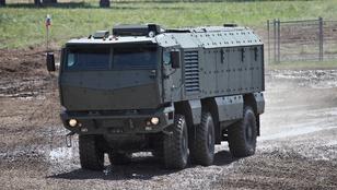 Szuperjárművet épített a Kamaz az orosz hadseregnek