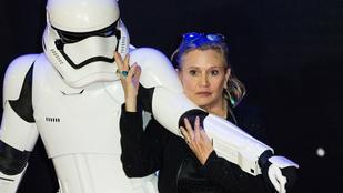 Carrie Fisher elküldte a francba azokat, akik leöregezték