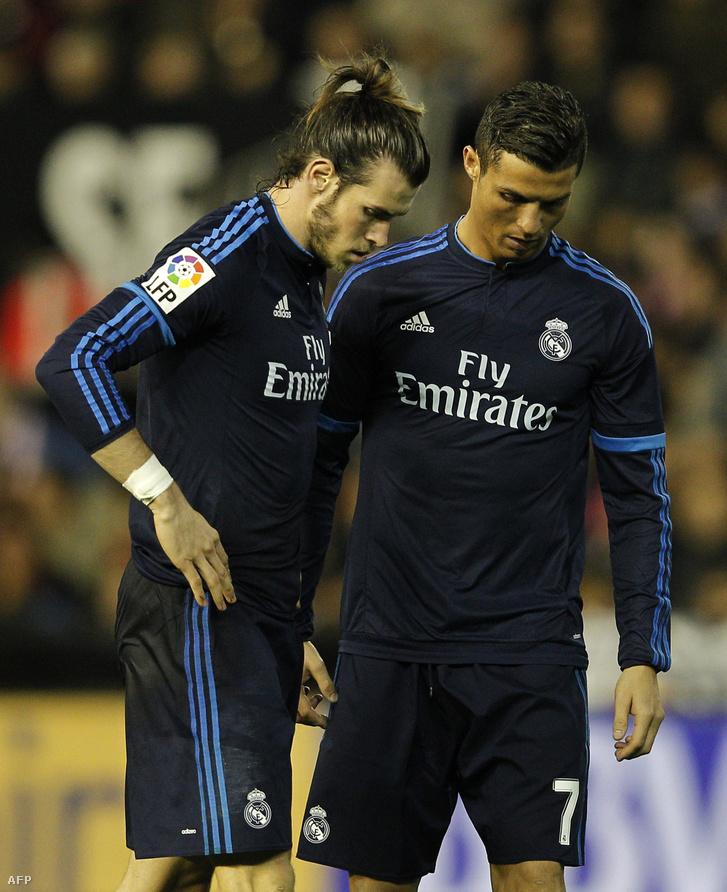 Gareth Bale és Cristiano Ronaldo