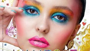 Johnny Depp lánya már címlapot is kapott