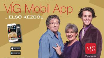 VÍG Mobil App – Egy érintésre a Vígszínház
