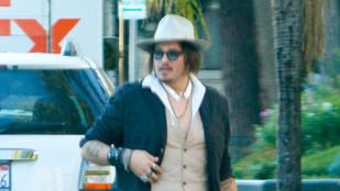 Johnny Depp lassan tényleg felismerhetetlen