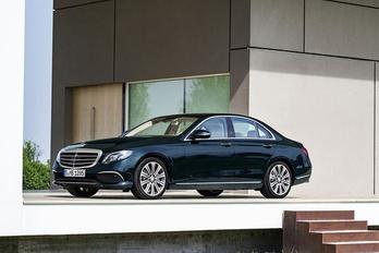 Kiszivárogtak az új Mercedes E osztály képei
