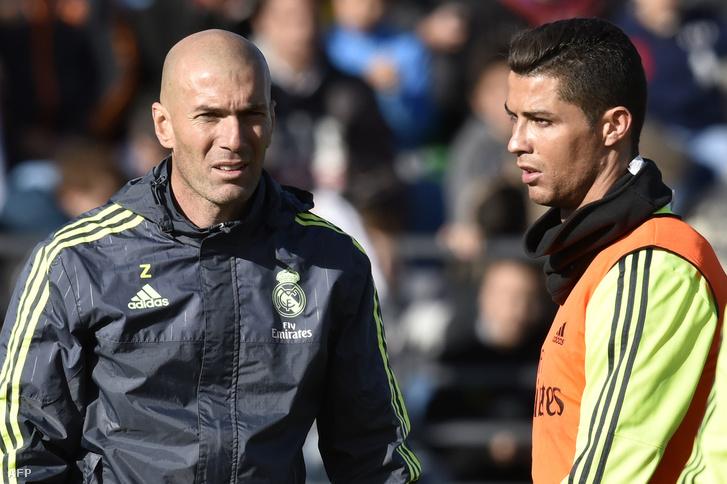 Zidane és Ronaldo