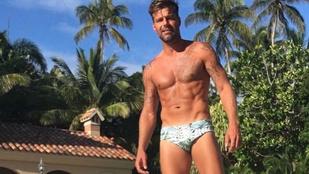 Ricky Martin jól leszálkásodott a nyaraláson