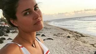 Jakabos Zsuzsa bikiniben senyved egy Madagaszkár melletti szigeten