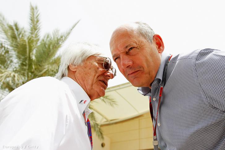 Ecclestone és Dennis 2012-ben