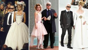 Ennyit változtak a Chanel menyasszonyok az elmúlt 25 évben